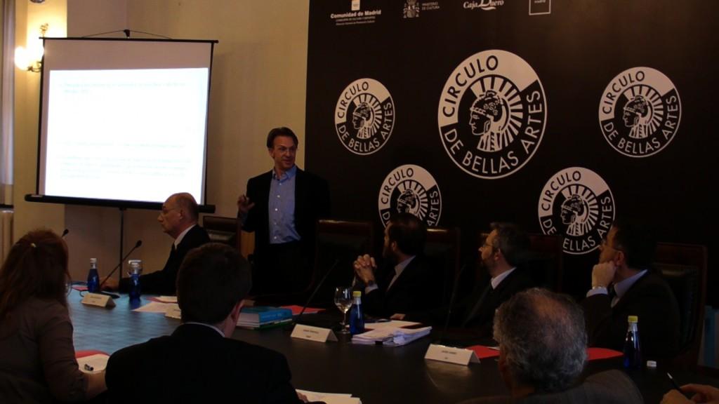Presentacion en Circulo de Bellas Artes de Madrid (21/04/2009)